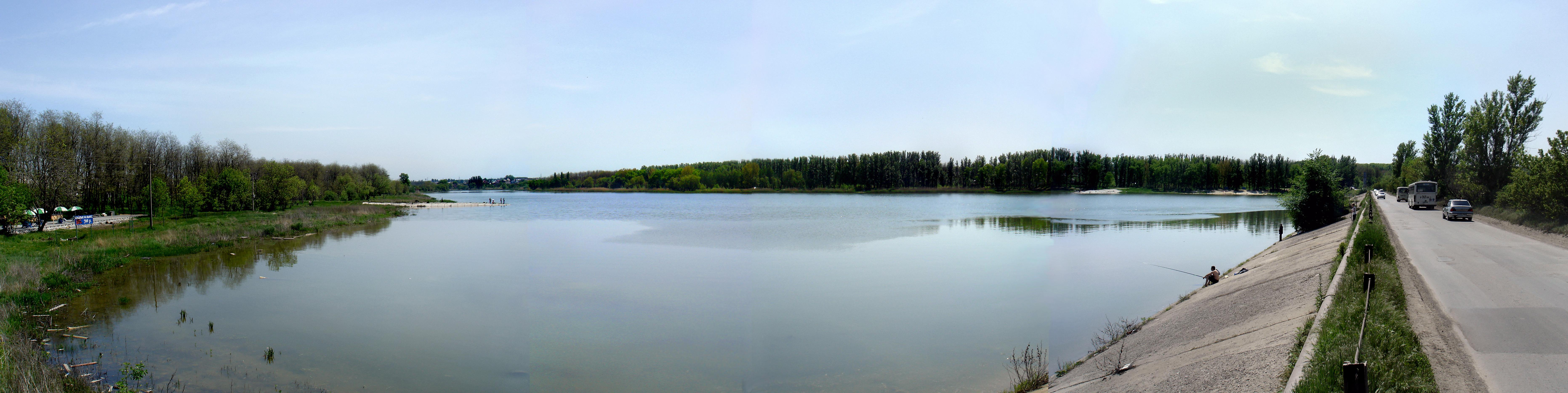 Пляж ростовское море 41
