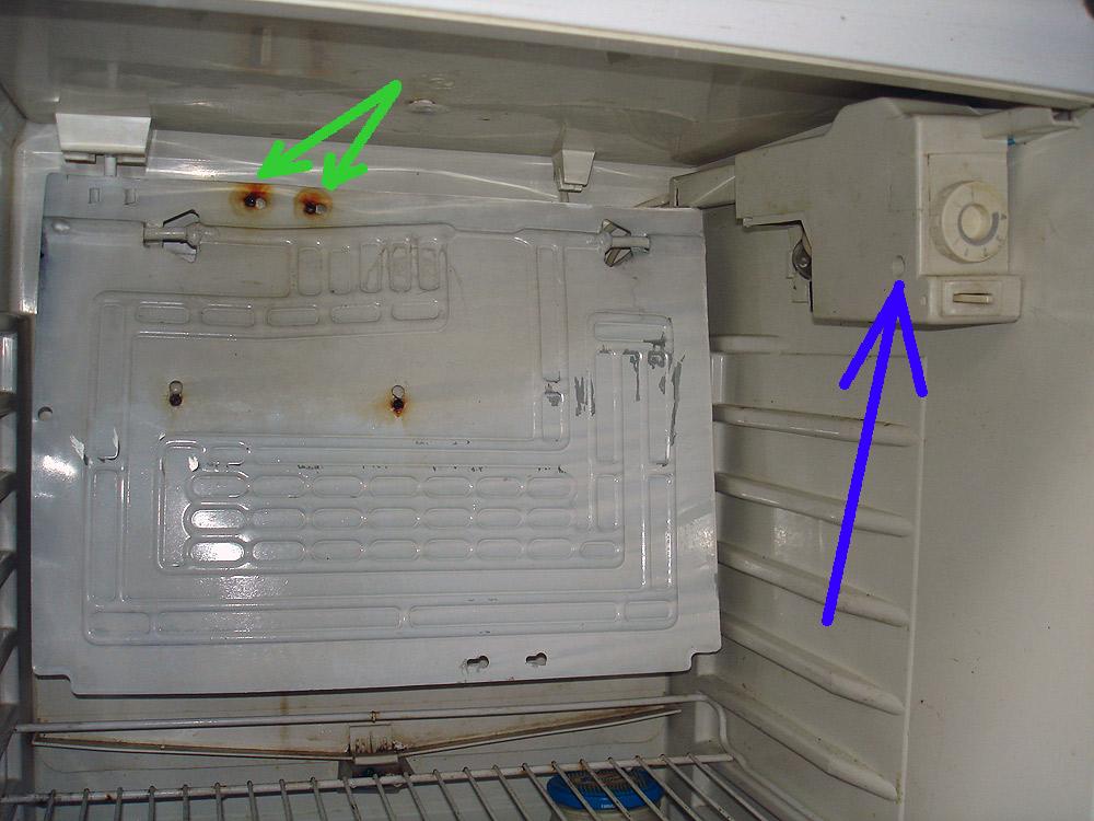 Замена термостата в холодильнике атлант своими руками 6